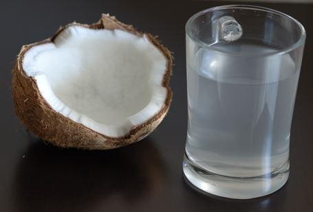Efekty treningu- woda kokosowa