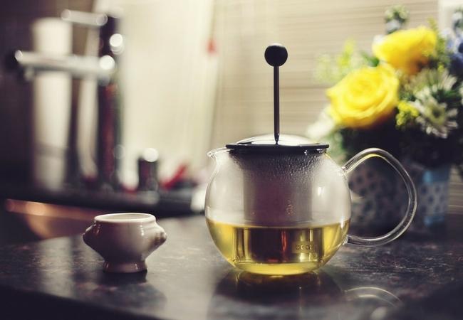 Efekty treningu - zielona herbata